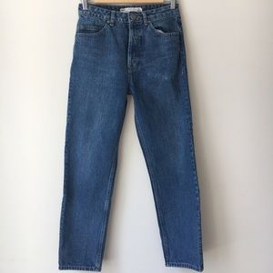 ASOS DESIGN recycled straight leg jeans